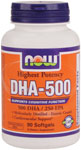 NOW Foods DHA 500 90 Softgels