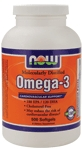 NOW Foods Omega 3 1,000 mg 500 Softgels