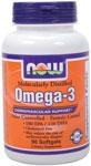 NOW Foods Omega-3 Molecularly Distilled 1,000mg  90 Softgels