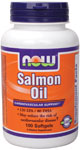 NOW Foods Salmon Oil 1,000 mg 100 Softgels