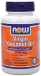 NOW Foods Virgin Coconut Oil 1,000 mg 120 Softgels