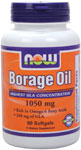 NOW Foods Borage Oil  240 mg GLA 60 Softgels