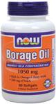 NOW Foods Borage Oil  240 mg GLA 60 Softgels