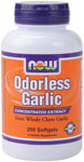 NOW Foods Odorless Garlic 2,500 mg 250 Softgels