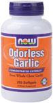 NOW Foods Odorless Garlic 2,500 mg 250 Softgels