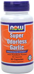 NOW Foods Super Odorless Garlic 5,000 mg 90 Capsules