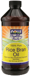 NOW Foods Rice Bran Oil 16 fl oz (473 ml)