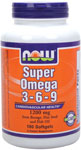 NOW Foods Super Omega 3-6-9 1,200 mg 180 Softgels