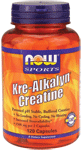 NOW Foods Kre-Alkalyn Creatine 120 Capsules