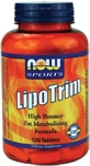 NOW Foods Lipo Trim 120 Tablets