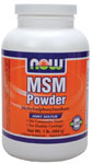 NOW Foods MSM 100% Pure Powder 1 Pound (454 g)