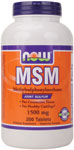 NOW Foods MSM 1,500 mg  200 Tablets