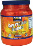 NOW Foods Soy Protein Isolate Powder 2 Pounds