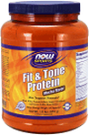 NOW Foods Fit & Tone™ Protein Mocha Flavor 1.8 lbs (816 g)
