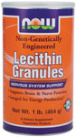 NOW Foods Lecithin Granules 1 Pound (454 g)