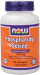 NOW Foods Phosphatidyl Serine 100 mg 120  Vcaps™