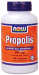 NOW Foods Propolis 500 mg  100 Capsules