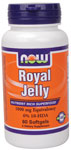 NOW Foods Royal Jelly 1,000 mg 60 Softgels