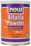NOW Foods Alfalfa Powder 1 Pound (454 g)