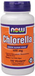 NOW Foods Chlorella 400 mg 100 Vcaps™