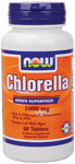 NOW Foods Chlorella 1,000 mg 60 Tablets