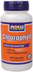 NOW Foods Chlorophyll  100 mg 90 Capsules