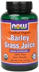 NOW Foods Barley Grass Juice Powder 4 Ounces (112 g)