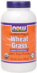 NOW Foods Wheat Grass Powder 9 Ounces (255g)
