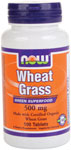 NOW Foods Wheat Grass 500 mg 100 Tablets