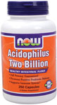 NOW Foods Acidophilus Two Billion 250 Capsules