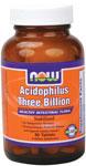 NOW Foods Stabilized Acidophilus 3 Billion  90 Tablets