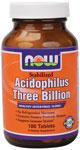 NOW Foods Stabilized Acidophilus 3 Billion 180 Tablets