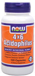 NOW Foods 4 X 6 Acidophilus 120 Capsules