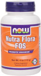 NOW Foods Nutra Flora FOS (Fructooligosaccharides)  4 Ounces (113g)