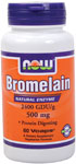 NOW Foods Bromelain 2,400 GDU / 500 mg 60 Vcaps™
