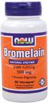 NOW Foods Bromelain 2,400 GDU / 500 mg 60 Vcaps™