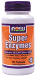 NOW Foods Super Enzymes 90 Tablets