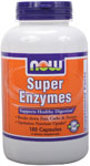 NOW Foods Super Enzymes Caps 180 Capsules