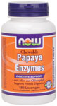 NOW Foods Papaya Enzyme 180 Lozenges