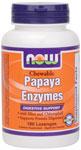 NOW Foods Papaya Enzyme 180 Lozenges