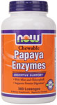 NOW Foods Papaya Enzyme 360 Chewable Tablets