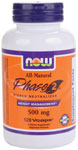 NOW Foods Phase 2®  Starch Neutralizer 500 mg 120 Vcaps