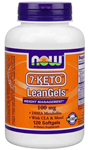 NOW Foods 7-Keto® LeanGels™ 100 mg 120 Softgels