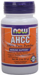 NOW Foods AHCC 100% Pure Powder 2 Ounces (57g)