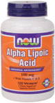 NOW Foods Alpha Lipoic Acid 100 mg 120 Vcaps