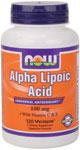 NOW Foods Alpha Lipoic Acid 100 mg 120 Vcaps