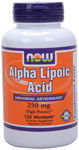 NOW Foods Alpha Lipoic Acid 250 mg 120 Capsules