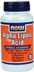 NOW Foods Alpha Lipoic Acid 600 mg  60 Vcaps
