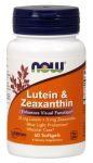 NOW Foods Lutein & Zeaxanthin 60 Softgels