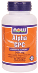 NOW Foods Alpha GPC 300 mg 60 Vcaps